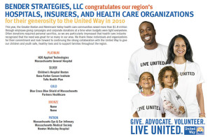 Bender Strategies United Way